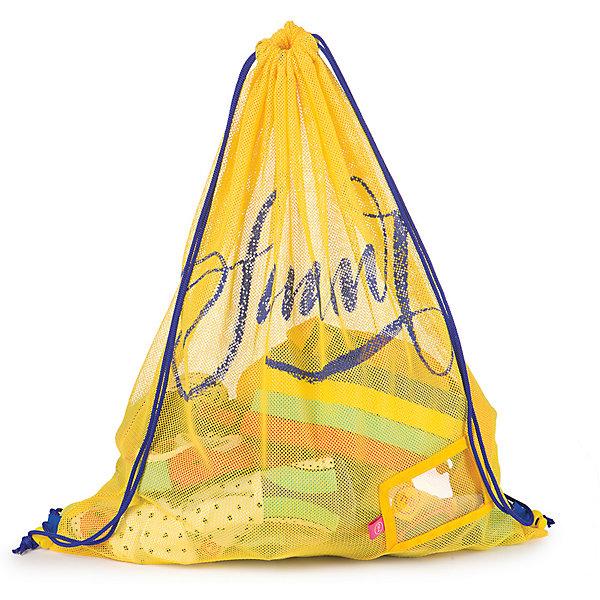 Сумка пляжная, Happy BabyСумки и рюкзаки<br>Характеристики:<br><br>• сумка пляжная позволяет компактно складывать вещи для плавания и отдыха на пляже;<br>• верх сумки стягивается веревочками, которые можно использовать как лямки рюкзака и носить сумку на плечах;<br>• материал: полиэстер;<br>• размер упаковки: 27,5х22х3,5 см;<br>• вес: 114 г.<br><br>Летнее время – пора отпусков, походов на пляж и полноценного отдыха. Пляжная сумка для аксессуаров носится как маленький рюкзачок, способна вмесить самые необходимые вещи для плавания. <br><br>Сумку пляжную, Happy Baby можно купить в нашем интернет-магазине.<br>Ширина мм: 35; Глубина мм: 220; Высота мм: 275; Вес г: 114; Возраст от месяцев: 36; Возраст до месяцев: 2147483647; Пол: Унисекс; Возраст: Детский; SKU: 6679329;