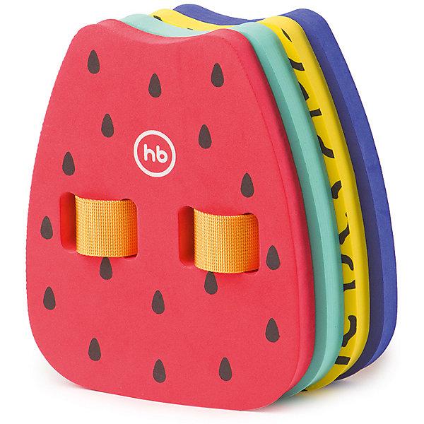 Пояс для обучения плаванию Neptun, Happy BabyОчки, маски, ласты, шапочки<br>Характеристики:<br><br>• пояс удерживает ребенка на поверхности воды;<br>• длина ремня регулируется до 100 см;<br>• 4 пластины;<br>• пластины надежно пристегиваются;<br>• пластины снимаются отдельно друг от друга;<br>• нагрузка увеличивается постепенно;<br>• пояс надевается на спину ребенка;<br>• ребенок учится плавать;<br>• материал: этиленвинилацетат, полиэстер, АБС-пластик;<br>• допустимая нагрузка: до 15 кг;<br>• размер пластин: 21х17х8 см;<br>• срок службы: 2 года;<br>• размер упаковки: 26х17х9,5 см;<br>• вес: 303 г.<br><br>Удерживающие принадлежности для обучения плаванию обеспечивают безопасность ребенка во время пребывания в воде. Пояс для обучения плаванию используется на мелководье обязательно под присмотром взрослых. Пояс состоит из 4-х съемных пластин, которые надеваются на спину ребенка. Обучение плаванию происходит поэтапно: пластины снимаются поочередно, ребенок приучается плавать без посторонней помощи.<br><br>Пояс для обучения плаванию Neptun, Happy Baby можно купить в нашем интернет-магазине.<br>Ширина мм: 95; Глубина мм: 170; Высота мм: 260; Вес г: 303; Возраст от месяцев: 6; Возраст до месяцев: 36; Пол: Унисекс; Возраст: Детский; SKU: 6679330;