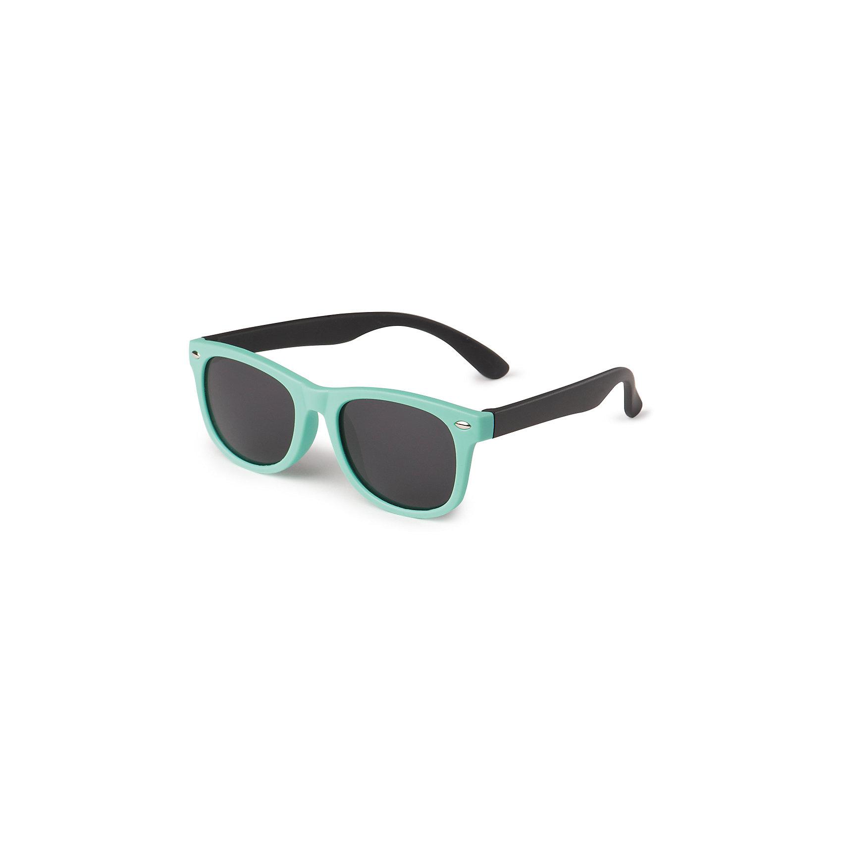 Очки солнцезащитные, Happy BabyСолнцезащитные очки<br>Солнцезащитные очки HBтм отличаются не только стильным дизайном, но и обеспечивают надёжную защиту от ультрафиолетового излучения. Стёкла очков имеют показатель UV400, что означает, что линзы максимально отфильтровывают ультрафиолетовые лучи любого спектра.<br><br>Ширина мм: 40<br>Глубина мм: 160<br>Высота мм: 50<br>Вес г: 33<br>Возраст от месяцев: 180<br>Возраст до месяцев: 60<br>Пол: Унисекс<br>Возраст: Детский<br>SKU: 6679333
