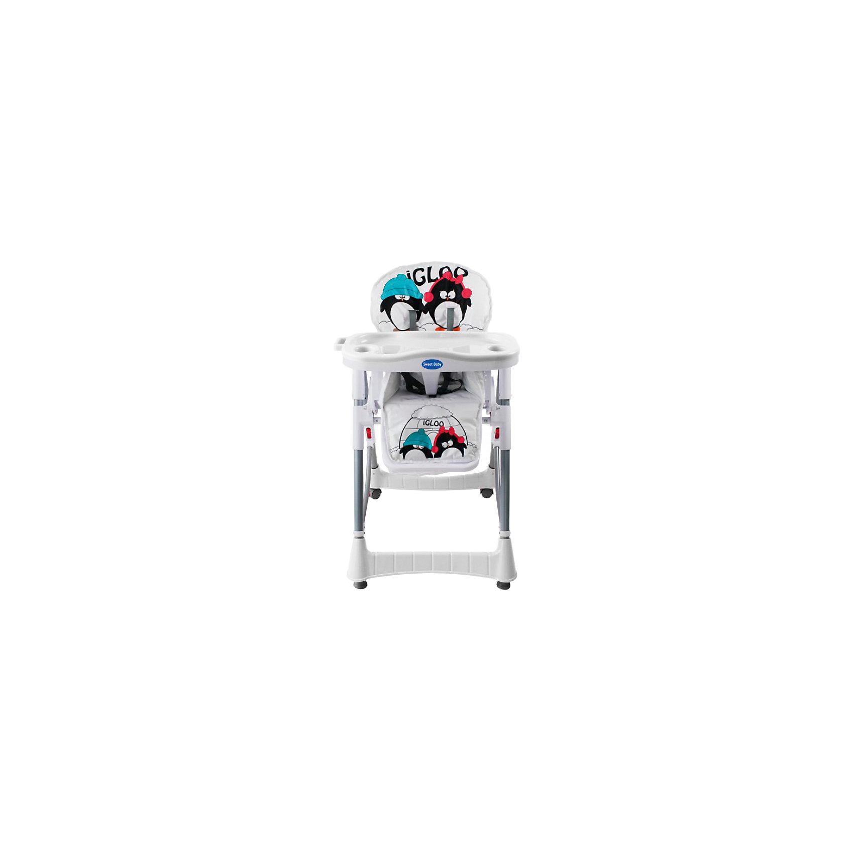 Стульчик для кормления Couple, Sweet Baby, Light LatteСтульчики для кормления<br>Характеристики товара:<br><br>• цвет: Light Latte<br>• для детей от 6 месяцев до 3 лет<br>• устойчивая конструкция<br>• 4 колесика со стопорами<br>• регулировка сиденья по высоте (5 положений)<br>• регулируемая спинка (3 положения)<br>• съемный регулируемый столик с разделителем для ножек<br>• съемный поднос с 2 углублениями для стаканов<br>• 5-точечный ремень безопасности<br>• мягкий чехол<br>• корзина для мелочей<br>• материал: пластик, металл, текстиль<br>• вес: 8,5 кг<br>• размер стульчика: 70х60х106 см<br>• размер упаковки: 70х29х47 см<br><br>Стульчик для кормления Sweet Baby Couple для детей от 6 месяцев. Это практичная и функциональная модель, которую можно настроить индивидуально для каждого ребенка. <br><br>Для обеспечения безопасности малыша, в Couple предусмотрены ремни безопасности, пластиковый разделитель для ножек и высокие боковинки. <br><br>Этот компактный стульчик займет немного места в помещении любого размера. Благодаря небольшим колесикам, его быстро и удобно перемещать. Поднос столика снимается и может мыться в посудомоечной машине, а текстильная накладка устойчива к влаге и загрязнениям. <br><br>Стульчик для кормления Couple, Sweet Baby, Light Latte можно купить в нашем интернет-магазине.<br><br>Ширина мм: 750<br>Глубина мм: 600<br>Высота мм: 1050<br>Вес г: 9500<br>Возраст от месяцев: 0<br>Возраст до месяцев: 36<br>Пол: Унисекс<br>Возраст: Детский<br>SKU: 6680147