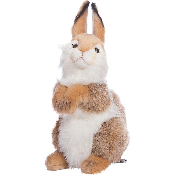 Мягкая игрушка Hansa Кролик, 30 смМягкие игрушки животные<br>Характеристики товара:<br><br>• возраст: от 3 лет;<br>• материал: искусственный мех;<br>• высота игрушки: 30 см;<br>• размер упаковки: 30х19х18 см;<br>• вес упаковки: 190 гр.;<br>• страна производитель: Филиппины.<br><br>Мягкая игрушка Кролик Hansa 30 см — очаровательный зверек с маленькими глазками-пуговками, пушистыми лапками и длинными ушками, который станет для ребенка любимым домашним питомцем. Игрушку можно брать с собой на прогулку, в детский садик, в гости и устраивать вместе с друзьями веселые игры. <br><br>Внутри проходит титановый каркас, который позволяет менять положение лап, туловища, поворачивать голову. Игрушка сделана из качественных безопасных материалов.<br><br>Мягкую игрушку Кролик Hansa 30 см можно приобрести в нашем интернет-магазине.<br>Ширина мм: 190; Глубина мм: 180; Высота мм: 300; Вес г: 190; Возраст от месяцев: 36; Возраст до месяцев: 2147483647; Пол: Унисекс; Возраст: Детский; SKU: 6680720;
