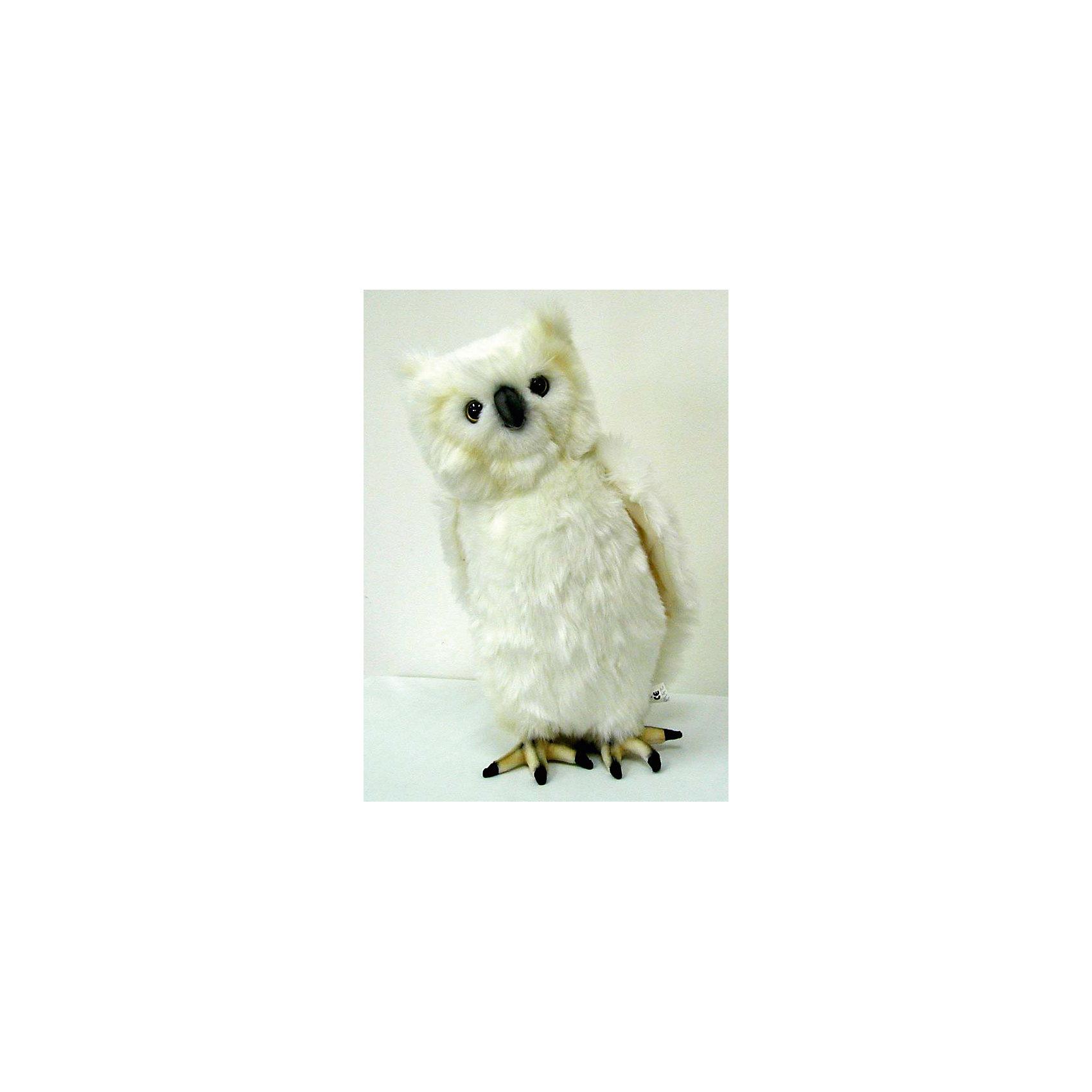 Мягкая игрушка Hansa Белая сова, 30 смМягкие игрушки животные<br>Характеристики товара:<br><br>• возраст: от 3 лет;<br>• материал: искусственный мех;<br>• высота игрушки: 30 см;<br>• размер упаковки: 30х19х15 см;<br>• вес упаковки: 230 гр.;<br>• страна производитель: Филиппины.<br><br>Мягкая игрушка Белая сова Hansa 30 см — очаровательный пушистый совенок с глазками-пуговками, который станет для ребенка любимым домашним питомцем. Игрушку можно брать с собой на прогулку, в детский садик, в гости и устраивать вместе с друзьями веселые игры. <br><br>Внутри проходит титановый каркас, который позволяет менять положение крыльев, туловища, поворачивать голову. Игрушка сделана из качественных безопасных материалов.<br><br>Мягкую игрушку Белая сова Hansa 30 см можно приобрести в нашем интернет-магазине.<br><br>Ширина мм: 190<br>Глубина мм: 150<br>Высота мм: 300<br>Вес г: 230<br>Возраст от месяцев: 36<br>Возраст до месяцев: 2147483647<br>Пол: Унисекс<br>Возраст: Детский<br>SKU: 6680727