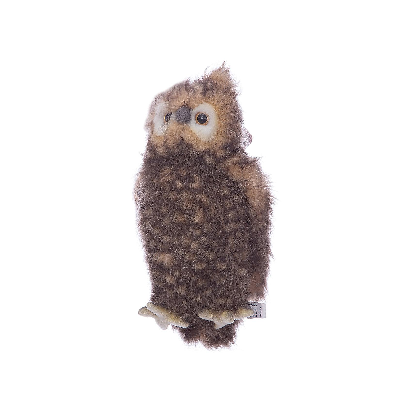 Мягкая игрушка Hansa Сова, 24 смМягкие игрушки животные<br>Характеристики товара:<br><br>• возраст: от 3 лет;<br>• материал: искусственный мех;<br>• высота игрушки: 24 см;<br>• размер упаковки: 24х19х21 см;<br>• вес упаковки: 433 гр.;<br>• страна производитель: Филиппины.<br><br>Мягкая игрушка Сова Hansa 24 см — очаровательная пятнистая сова с глазками-пуговками, которая станет для ребенка любимым домашним питомцем. Игрушку можно брать с собой на прогулку, в детский садик, в гости и устраивать вместе с друзьями веселые игры. <br><br>Внутри проходит титановый каркас, который позволяет менять положение лап, туловища, крыльев. Игрушка сделана из качественных безопасных материалов.<br><br>Мягкую игрушку Сова Hansa 24 см можно приобрести в нашем интернет-магазине.<br><br>Ширина мм: 190<br>Глубина мм: 210<br>Высота мм: 240<br>Вес г: 433<br>Возраст от месяцев: 36<br>Возраст до месяцев: 2147483647<br>Пол: Унисекс<br>Возраст: Детский<br>SKU: 6680735