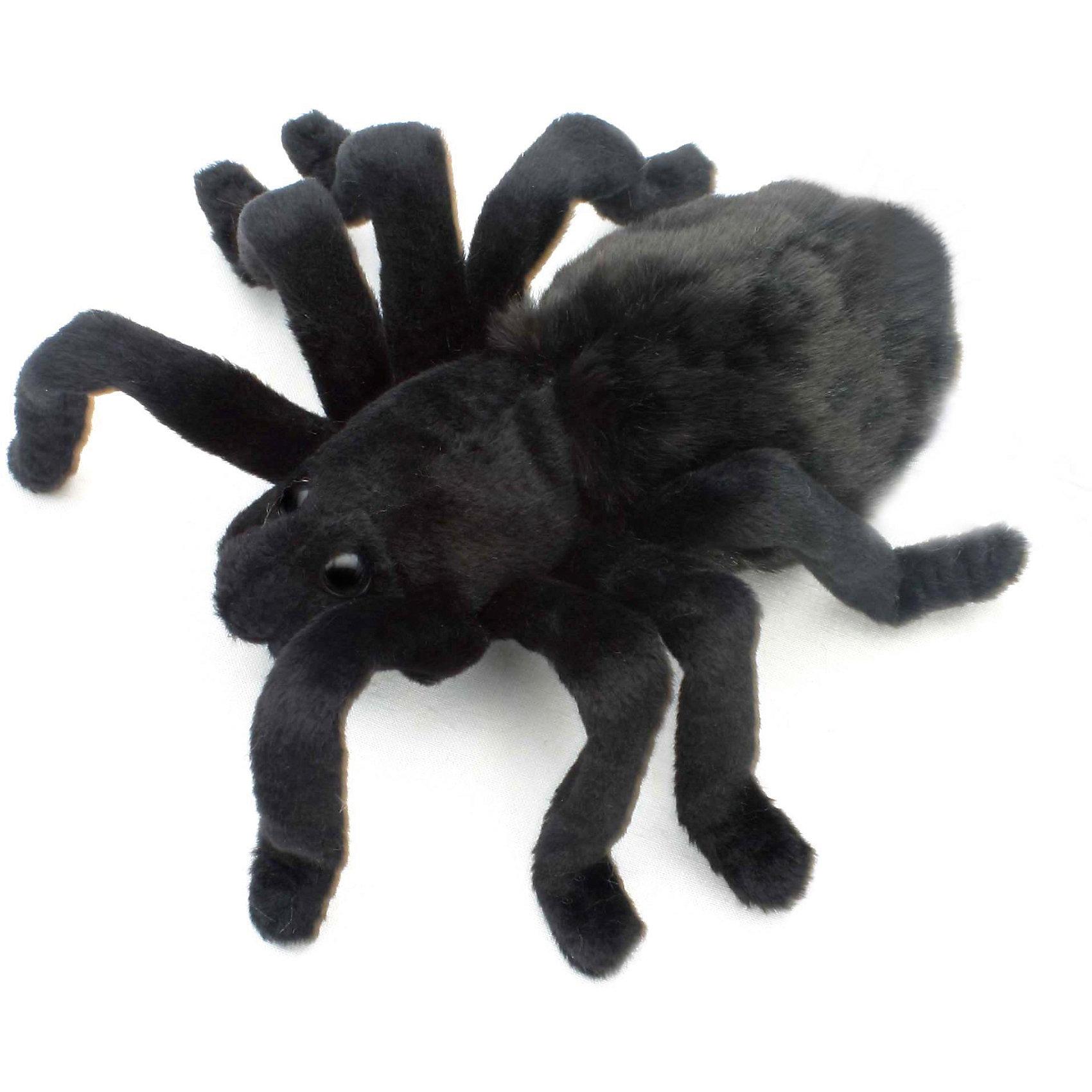 Мягкая игрушка Hansa Тарантул черный, 19 смМягкие игрушки животные<br>Характеристики товара:<br><br>• возраст: от 3 лет;<br>• материал: искусственный мех;<br>• длина игрушки: 19 см;<br>• размер упаковки: 19х16х7 см;<br>• вес упаковки: 30 гр.;<br>• страна производитель: Филиппины.<br><br>Мягкая игрушка Тарантул черный Hansa 19 см — черный пушистый паучок с лапками. Игрушку можно брать с собой на прогулку, в детский садик, в гости и устраивать вместе с друзьями веселые игры. <br><br>Внутри проходит титановый каркас, который позволяет менять положение лап, туловища, поворачивать голову. Игрушка сделана из качественных безопасных материалов.<br><br>Мягкую игрушку Тарантул черный Hansa 19 см можно приобрести в нашем интернет-магазине.<br><br>Ширина мм: 190<br>Глубина мм: 160<br>Высота мм: 70<br>Вес г: 30<br>Возраст от месяцев: 36<br>Возраст до месяцев: 2147483647<br>Пол: Унисекс<br>Возраст: Детский<br>SKU: 6680738