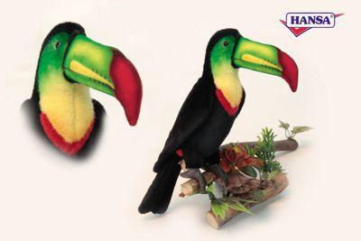 Мягкая игрушка Hansa Тукан , 33 см