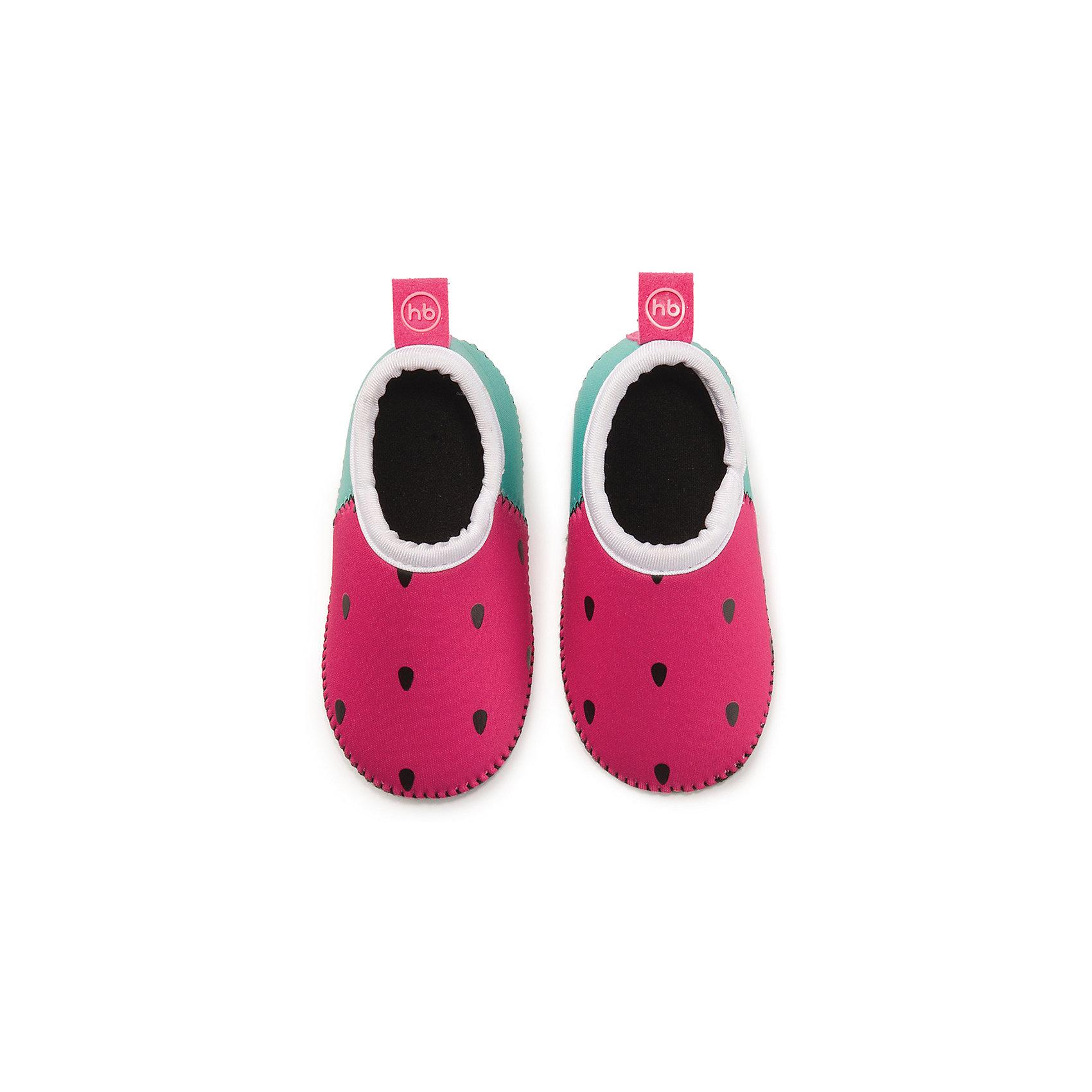 Плавательные тапочки для девочки размер 26, Happy BabyПляжная обувь<br>Тапочки для плавания HBтм сделают активный отдых ребенка на море ещё более приятным. В этой обуви малыш сможет уверенно ходить по камням, горячему песку или скользкой поверхности. Во время плавания ребёнок чувствует себя естественно, ведь тапочки изготовлены из лёгкого и приятного на ощупь материала. Водонепроницаемые и теплоудерживающие тапочки для плавания HBтм помогут сохранить ножки ребёнка в тепле и безопасности. Длина стельки 14,9 см<br><br>Ширина мм: 40<br>Глубина мм: 60<br>Высота мм: 190<br>Вес г: 58<br>Возраст от месяцев: 180<br>Возраст до месяцев: 36<br>Пол: Унисекс<br>Возраст: Детский<br>SKU: 6681121