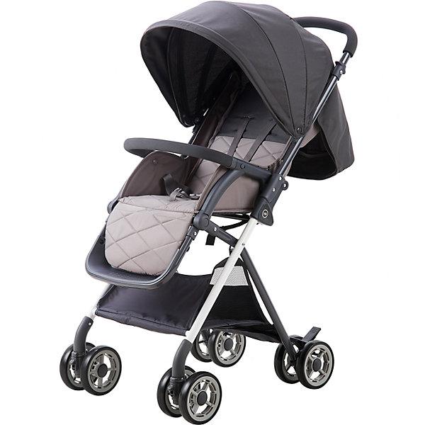 Прогулочная коляска Happy Baby Mia, серыйСезон весна-лето<br>Характеристики:<br><br>• регулируемое положение спинки коляски, угол наклона 90-175 градусов;<br>• регулируемое положение подножки;<br>• защитный бампер отводится в сторону или снимается полностью;<br>• 5-ти точечные ремни безопасности регулируются по длине и высоте;<br>• капюшон оснащен солнцезащитным козырьком и смотровым клеенчатым окошком под клапаном;<br>• сдвоенные колеса;<br>• передние поворотные колеса с блокировкой;<br>• задние колеса с рычагами тормоза;<br>• тип складывания: книжка;<br>• в сложенном виде колеса опущены вниз, ручка-бампер используется для того, чтобы везти коляску в сложенном виде;<br>• предусмотрен крючок для блокировки коляски в сложенном виде;<br>• коляска устойчива в вертикальном положении в сложенном виде;<br>• в комплекте дождевик и инструкция;<br>• материал: алюминий, пластик, полиэстер.<br><br>Размеры:<br><br>• размер коляски: 77,5х50,8х104,6 см;<br>• размер коляски в сложенном виде: 76,5х27,5х44,5 см;<br>• вес коляски: 6,8 кг;<br>• ширина сиденья: 32 см;<br>• глубина сиденья: 24 см;<br>• длина спального места: 80 см;<br>• диаметр колес: 14 см;<br>• допустимая нагрузка: до 15 кг;<br>• вес в упаковке: 9,5 кг.<br><br>Прогулочную коляску Happy Baby Mia, морской можно купить в нашем интернет-магазине.<br>Ширина мм: 765; Глубина мм: 275; Высота мм: 445; Вес г: 9500; Цвет: серый; Возраст от месяцев: 7; Возраст до месяцев: 36; Пол: Унисекс; Возраст: Детский; SKU: 6681546;