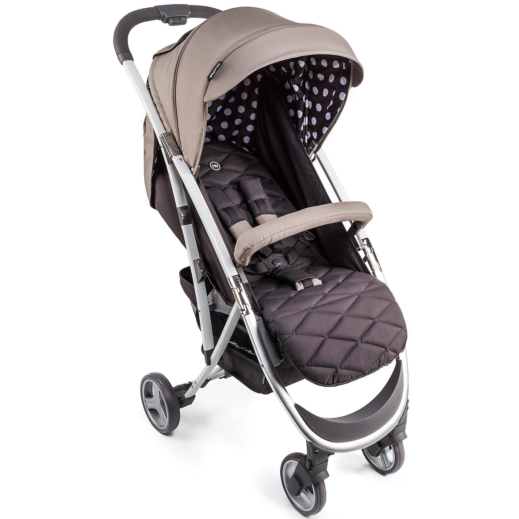 Прогулочная коляска Happy Baby Eleganza V2, бежевый