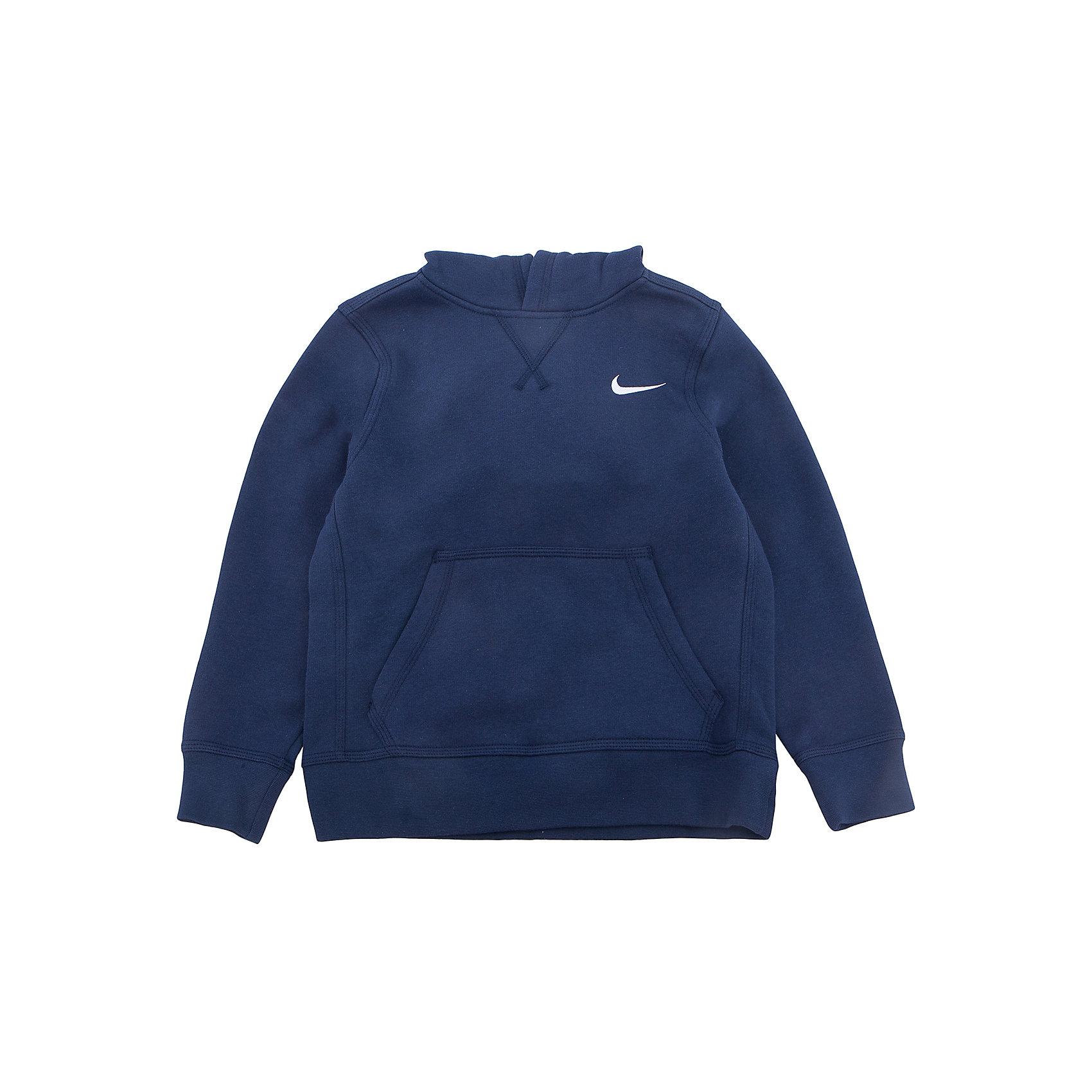 Толстовка NIKEТолстовки<br>Толстовка NIKE<br>Свитшот Nike YA76 Just Do It Brushed Fleece: удобный и стильный. Свитшот Nike YA76 Just Do It Brushed Fleece Pullover сделан из мягкой хлопковой ткани для комфорта и спереди по центру декорирована графикой цвета металлик для яркого образа. Преимущества. Капюшон с подкладкой для защиты от холода и непогоды. Ворсистая изнанка дарит тепло и комфорт. Карман-кенгуру для хранения мелочей и защиты рук от холода. Ребристые манжеты и низ обеспечивают плотную комфортную посадку. Принт создает яркий образ.<br>Состав:Основн: Хлопок 80%, Полиэстер, 20%, Подкл: Хлопок 100%<br><br>Ширина мм: 190<br>Глубина мм: 74<br>Высота мм: 229<br>Вес г: 236<br>Цвет: синий<br>Возраст от месяцев: 168<br>Возраст до месяцев: 180<br>Пол: Унисекс<br>Возраст: Детский<br>Размер: 158/170,122/128,128/134,135/140,146/158<br>SKU: 6681943