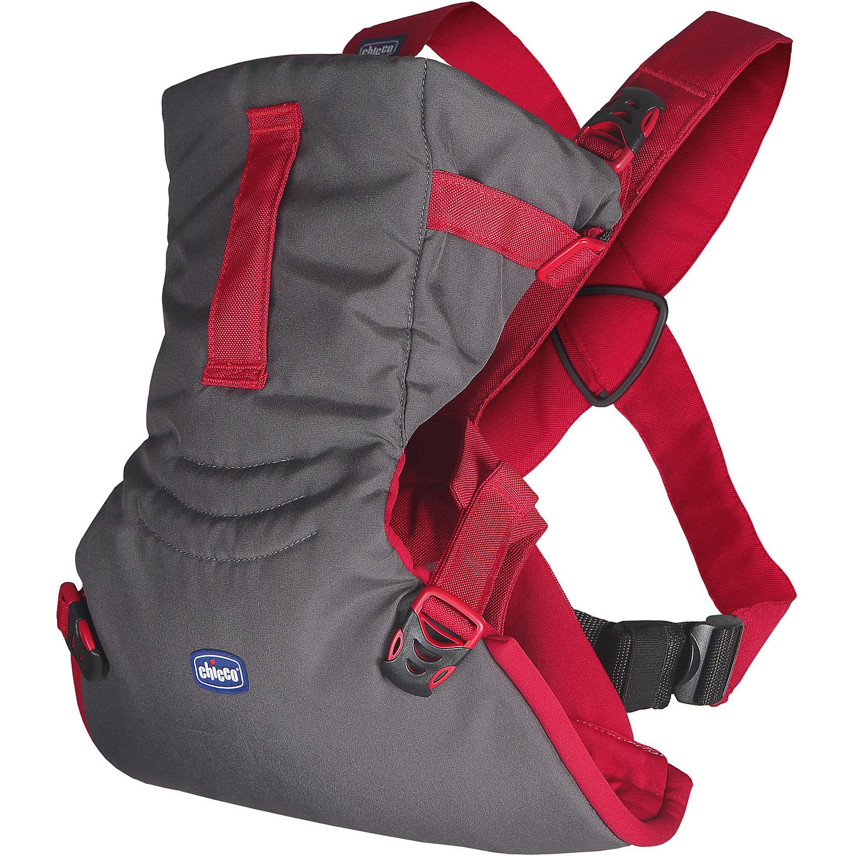 Переноска-кенгуру Easy Fit, Chicco, paprikaСлинги и рюкзаки-переноски<br>Характеристики:<br><br>• носится как футболка; <br>• обеспечивает безопасное положение ребенка во время прогулок;<br>• эргомичное сиденье обеспечивает правильное положение бедер ребенка;<br>• можно подстроить под комплекцию каждого ребенка;<br>• ножки малыша анатомически правильно расположены;<br>• позвоночник развивается правильно;<br>• малыш свободно дышит, имеется расстояние от спинки до личика; <br>• можно уложить даже спящего ребенка;<br>• два положения: лицом к маме, спинкой к маме;<br>• когда ребенок подрастет, мама может поддерживать ножки малыша, создавая упор для прыжков в вертикальном положении;<br>• на капюшоне-подголовнике расположена ручка-ремешок, чтобы маме было удобнее поддерживать головку подросшего ребенка;<br>• петелька для крепления держателя от пустышки, легкой развивающей игрушки или прорезывателя;<br>• рюкзак компактно складывается, есть возможность зафиксировать в сложенном виде;<br>• понятная регулировка ремней;<br>• допускается стирка при температуре 30 градусов;<br>• протестировано педиатрами;<br>• максимальный вес ребенка: 9 кг;<br>• размер переноски: 30х15 см;<br>• вес переноски: 400 г.<br><br>Переноску-кенгуру Easy Fit, Chicco, paprika можно купить в нашем интернет-магазине.<br><br>Ширина мм: 160<br>Глубина мм: 110<br>Высота мм: 305<br>Вес г: 557<br>Возраст от месяцев: 0<br>Возраст до месяцев: 9<br>Пол: Унисекс<br>Возраст: Детский<br>SKU: 6682746