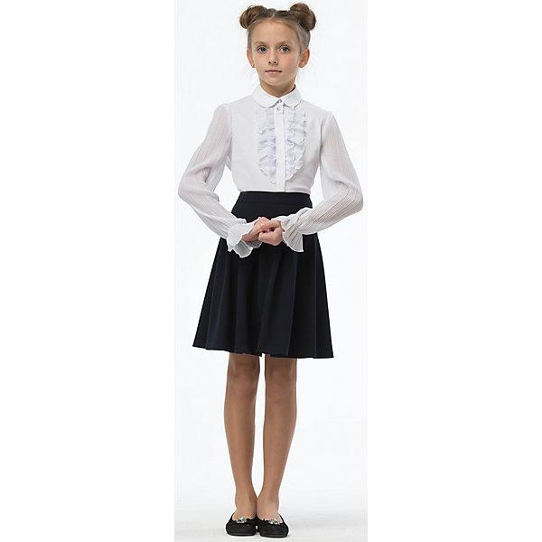Блузка для девочки СменаБлузки и рубашки<br>Характеристики товара:<br><br>• цвет: белый<br>• состав ткани: 60% хлопок, 40% полиэстер<br>• сезон: круглый год<br>• особенности модели: нарядная, школьная<br>• застежка: на пуговицах<br>• с длинным рукавом<br>• страна бренда: Россия<br>• страна изготовитель: Россия<br><br>Блузка для девочки Смена выполнена из однотонной ткани с добавлением хлопка. Застегивается на пуговицы. <br><br>Российский бренд Смена давно известен отечественным покупателям. Одежда от него отличается высоким качеством, есть широкая линейка современной одежды для школы.<br><br>Блузку для девочки Смена можно купить в нашем интернет-магазине.<br>Ширина мм: 186; Глубина мм: 87; Высота мм: 198; Вес г: 197; Цвет: белый; Возраст от месяцев: 72; Возраст до месяцев: 84; Пол: Женский; Возраст: Детский; Размер: 122,164,158,152,146,140,134,128; SKU: 6683892;