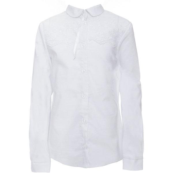 Блузка для девочки СменаБлузки и рубашки<br>Характеристики товара:<br><br>• цвет: белый<br>• состав ткани: 70% хлопок, 27% полиэстер, 3% полиуретан<br>• сезон: круглый год<br>• особенности модели: нарядная, школьная<br>• застежка: на пуговицах<br>• с длинным рукавом<br>• страна бренда: Россия<br>• страна изготовитель: Россия<br><br>Блузка для девочки Смена выполнена из однотонной ткани с добавлением хлопка. Застегивается на пуговицы.<br><br>Российский бренд Смена давно известен отечественным покупателям. Одежда от него отличается высоким качеством, есть широкая линейка современной одежды для школы.<br><br>Блузку для девочки Смена можно купить в нашем интернет-магазине.<br><br>Ширина мм: 186<br>Глубина мм: 87<br>Высота мм: 198<br>Вес г: 197<br>Цвет: белый<br>Возраст от месяцев: 120<br>Возраст до месяцев: 132<br>Пол: Женский<br>Возраст: Детский<br>Размер: 146,164,158,152<br>SKU: 6683919