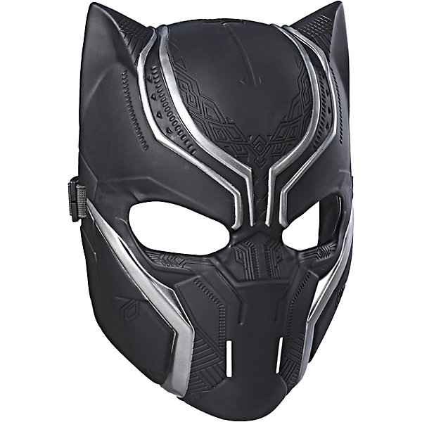 Маска Мстители Черная пантера, HasbroИдеи подарков<br>Характеристики:<br><br>• возраст: от 5 лет<br>• материал: пластик<br>• размер упаковки:290х119х10 мм.<br>• вес: 140 гр.<br><br>Маска Черной пантеры от Hasbro (Хасбро) поможет ребенку представить себя супергероем, которой спасает мир от злодеев и погрузиться с друзьями в увлекательный игровой процесс. Маска выполнена очень реалистично, все детали тщательно проработаны. Она надежно закрепляется на голове ребенка с помощью эластичной резинки. Изделие изготовлено из качественного пластика и наверняка понравится поклонникам этого героя.<br><br>Маску Мстителя, B9945/C2990, Мстители, Hasbro (Хасбро) можно купить в нашем интернет-магазине.<br>Ширина мм: 290; Глубина мм: 119; Высота мм: 10; Вес г: 140; Возраст от месяцев: 60; Возраст до месяцев: 2147483647; Пол: Мужской; Возраст: Детский; SKU: 6711759;