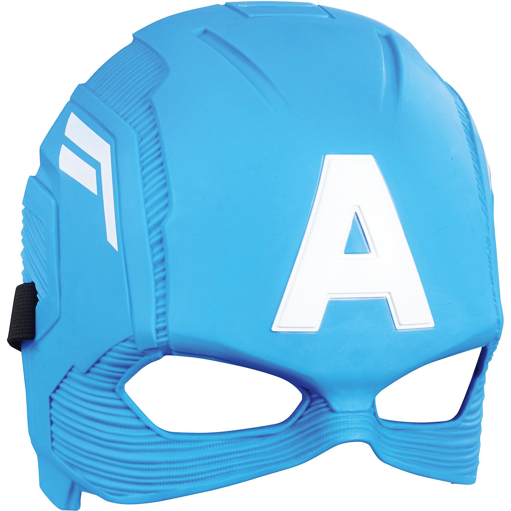 Маска Мстители Капитан Америка, HasbroМаски и карнавальные костюмы<br>Характеристики:<br><br>• возраст: от 5 лет<br>• материал: пластик<br>• размер упаковки:290х119х10 мм.<br>• вес: 140 гр.<br><br>Маска сверхчеловека Капитана Америка от Hasbro (Хасбро) поможет ребенку представить себя супергероем, которой спасает мир от злодеев и погрузиться с друзьями в увлекательный игровой процесс. Маска выполнена очень реалистично, все детали тщательно проработаны. Она надежно закрепляется на голове ребенка с помощью эластичной резинки. Изделие изготовлено из качественного пластика и наверняка понравится поклонникам этого героя.<br><br>Маску Мстителя, B9945/C0480, Мстители, Hasbro (Хасбро) можно купить в нашем интернет-магазине.<br><br>Ширина мм: 290<br>Глубина мм: 119<br>Высота мм: 10<br>Вес г: 140<br>Возраст от месяцев: 60<br>Возраст до месяцев: 2147483647<br>Пол: Мужской<br>Возраст: Детский<br>SKU: 6711760