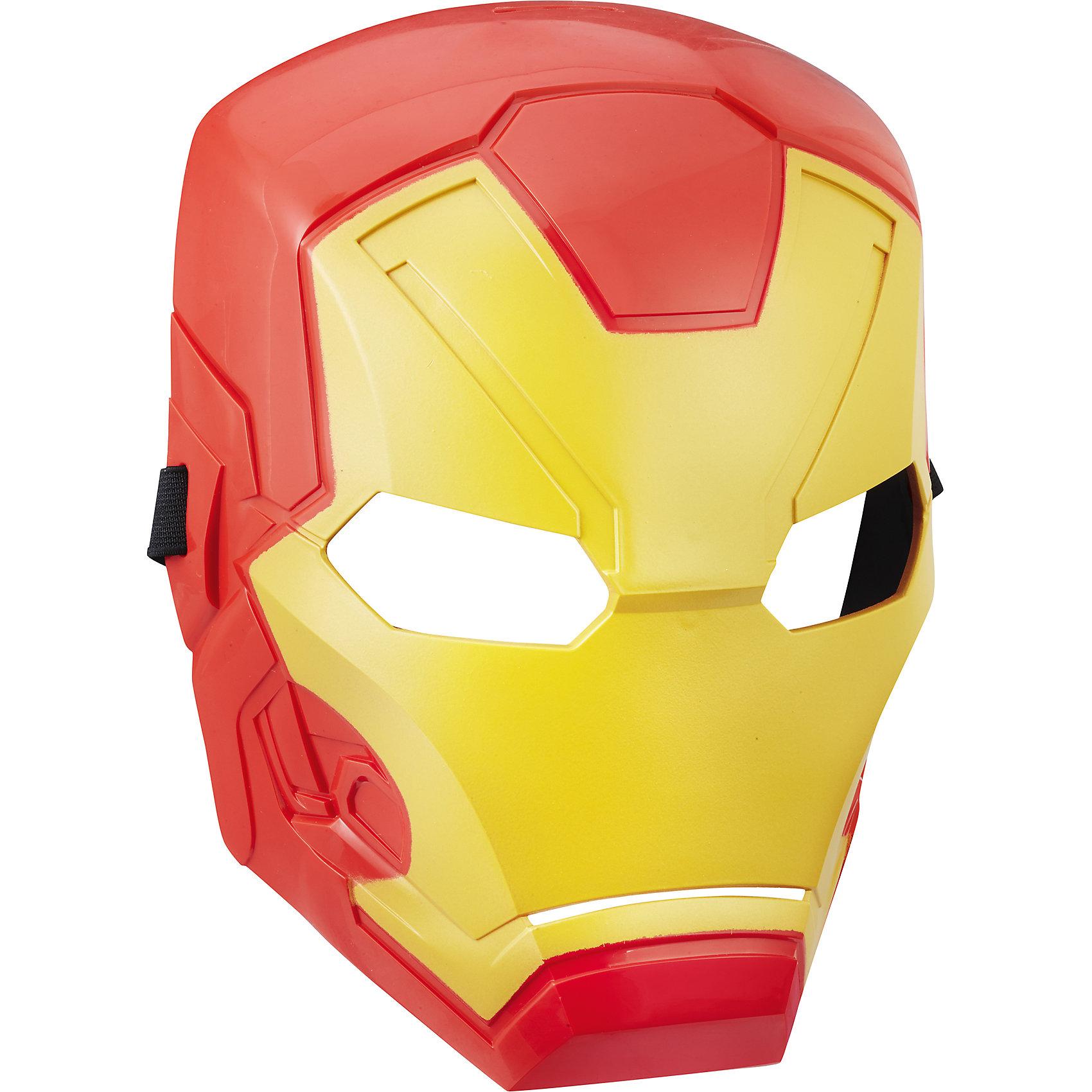 Маска Мстители Железный человек, HasbroИдеи подарков<br>Характеристики:<br><br>• возраст: от 5 лет<br>• материал: пластик<br>• размер упаковки: 290х119х10 мм.<br>• вес: 140 гр.<br><br>Маска неуязвимого Железного Человека от Hasbro (Хасбро) поможет ребенку представить себя супергероем, которой спасает мир от злодеев и погрузиться с друзьями в увлекательный игровой процесс. Маска выполнена очень реалистично, все детали тщательно проработаны. Она надежно закрепляется на голове ребенка с помощью эластичной резинки. Изделие изготовлено из качественного пластика и наверняка понравится поклонникам этого героя.<br><br>Маску Мстителя, B9945/C0481, Мстители, Hasbro (Хасбро) можно купить в нашем интернет-магазине.<br><br>Ширина мм: 290<br>Глубина мм: 119<br>Высота мм: 10<br>Вес г: 140<br>Возраст от месяцев: 60<br>Возраст до месяцев: 2147483647<br>Пол: Мужской<br>Возраст: Детский<br>SKU: 6711761