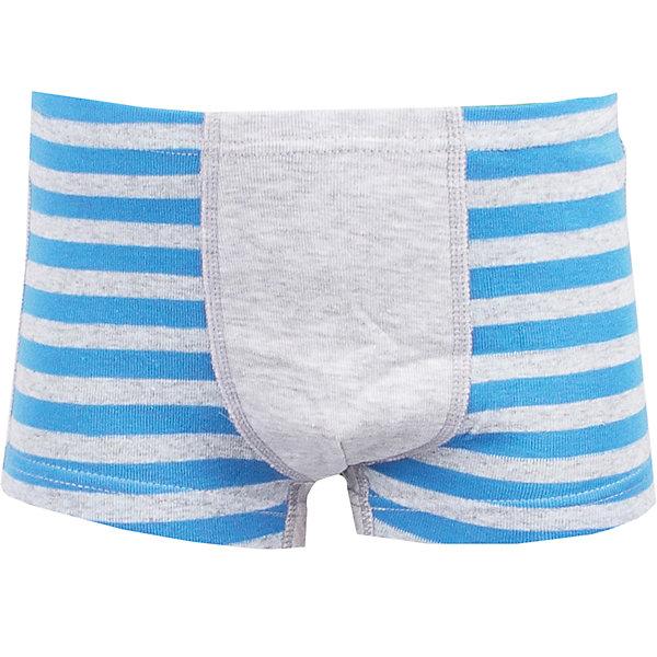 Шорты для мальчика АпрельНижнее бельё<br>Характеристики товара:<br><br>• цвет: серый/голубой<br>• состав: хлопок 70%, полиэстер 30%<br>• эластичный мягкий трикотаж<br>• мягкая окантовка<br>• швы не натирают<br>• натуральный материал<br>• позволяет телу дышать<br>• гипоаллергенная ткань<br>• страна бренда: Российская Федерация<br>• страна производства: Российская Федерация<br><br>Трусы-боксеры для мальчика. Серые трусы в голубую полоску с мягкой окантовкой краев.<br><br>Трусы для мальчика Апрель можно купить в нашем интернет-магазине.<br><br>Ширина мм: 196<br>Глубина мм: 10<br>Высота мм: 154<br>Вес г: 152<br>Цвет: серый<br>Возраст от месяцев: 24<br>Возраст до месяцев: 36<br>Пол: Мужской<br>Возраст: Детский<br>Размер: 98,128,122,116,110,104<br>SKU: 6715079