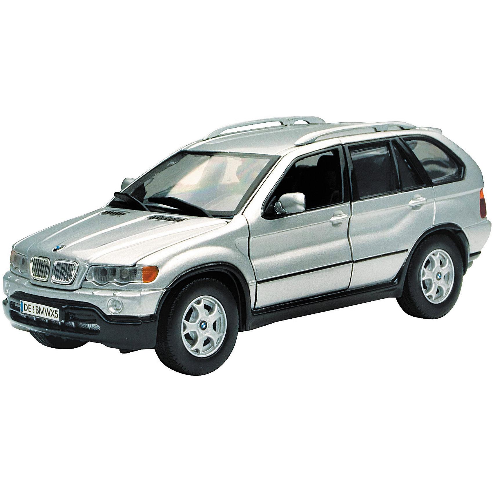 Машина BMW X5, 1:24, сераяМашинки<br><br><br>Ширина мм: 245<br>Глубина мм: 112<br>Высота мм: 102<br>Вес г: 692<br>Возраст от месяцев: 36<br>Возраст до месяцев: 84<br>Пол: Мужской<br>Возраст: Детский<br>SKU: 6722022