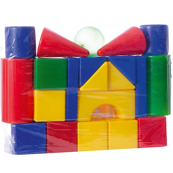 Набор Теремок, 21 элемент, Десятое королевствоКонструкторы для малышей<br>Характеристики:<br><br>• возраст: от 3 лет<br>• в наборе: кубик 7 шт. (8х8 см), большой цилиндр 2 шт. (?8х16 см), малый цилиндр 2 шт. (?8х8 см), конус 2 шт. (?8х13 см), треугольная призма 4 шт. (8х8 см), прямоугольная призма 2 шт (16х8х3 см), шар (?8 см), арка (16х8х8 см)<br>• количество элементов: 21<br>• материал: выдувная пластмасса<br>• упаковка: сумка ПВХ<br>• размер упаковки: 50х36х8 см.<br>• вес: 650 гр.<br><br>Конструктор «Теремок» от российского производителя Десятое королевство предназначен для детей дошкольного возраста. Он состоит из ярких цветных фигур различной формы. Из элементов конструктора малыш сможет построить самый настоящий сказочный теремок с крышей и башенками, а также — множество других сооружений. <br><br>Все элементы изготовлены из прочного и безопасного пластика. Внутри они полые, поэтому легкие и подходят даже для самых маленьких строителей. Конструктор упакован в прозрачную сумку. Игра с конструктором развивает у детей мелкую моторику, логическое мышление, цветовое восприятие.<br><br>Набор Теремок, 21 элемент, Десятое королевство можно купить в нашем интернет-магазине.<br>Ширина мм: 360; Глубина мм: 500; Высота мм: 80; Вес г: 690; Возраст от месяцев: 36; Возраст до месяцев: 2147483647; Пол: Унисекс; Возраст: Детский; SKU: 6723920;