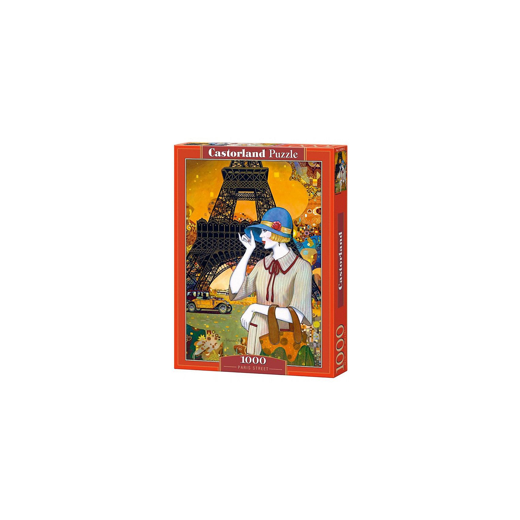 Пазл Castorland Париж, 1000 деталейПазлы для детей постарше<br>Характеристики:<br><br>• возраст: от 9 лет<br>• количество деталей: 1000 шт.<br>• размер собранного пазла: 47х68 см.<br>• материал: картон<br>• упаковка: картонная коробка<br>• размер упаковки: 25x5x35 см.<br>• вес: 500 гр.<br>• страна обладатель бренда: Польша<br><br>Пазл «Париж» от Castorland (Касторленд) отличается высоким качеством, высоким уровнем полиграфии, насыщенными цветами и идеальной стыковкой элементов. Пазл «Париж» предназначен для сборки детьми среднего и старшего возраста и, конечно, для взрослых. Из 1000 элементов пазла складывается красивая картина с изображением утонченной парижанки на фоне Эйфелевой башни.<br><br>Пазл Париж, 1000 деталей, Castorland (Касторленд) можно купить в нашем интернет-магазине.<br><br>Ширина мм: 350<br>Глубина мм: 250<br>Высота мм: 50<br>Вес г: 500<br>Возраст от месяцев: 108<br>Возраст до месяцев: 2147483647<br>Пол: Женский<br>Возраст: Детский<br>SKU: 6725073