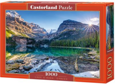 Пазл Castorland Озеро Охара, Канада , 1000 деталей