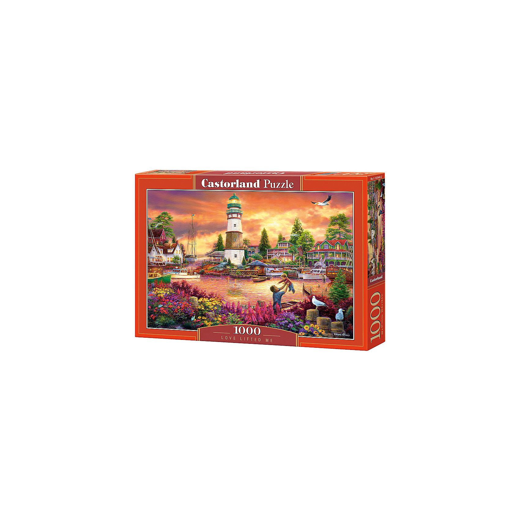 Пазл Castorland Живописная бухта, 1000 деталейПазлы для детей постарше<br>Характеристики:<br><br>• возраст: от 9 лет<br>• количество деталей: 1000 шт.<br>• размер собранного пазла: 68х47 см.<br>• материал: картон<br>• упаковка: картонная коробка<br>• размер упаковки: 35x5x25 см.<br>• вес: 500 гр.<br>• страна обладатель бренда: Польша<br><br>Пазл состоит из тысячи элементов, собрав которые, можно получить великолепную картину с изображением красочной бухты. Море в лучах заходящего солнца, разноцветные цветы на берегу, отец, играющий с сыном, и старый маяк, на котором уже загорелись первые огниж<br><br>Пазл Бухта, 1000 деталей, Castorland (Касторленд) можно купить в нашем интернет-магазине.<br><br>Ширина мм: 350<br>Глубина мм: 250<br>Высота мм: 50<br>Вес г: 500<br>Возраст от месяцев: 108<br>Возраст до месяцев: 2147483647<br>Пол: Унисекс<br>Возраст: Детский<br>SKU: 6725077