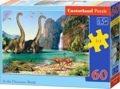 Пазл Castorland Динозавры , 60 деталей