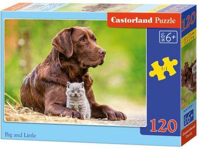 Пазл Castorland Большой и маленький , 120 деталей