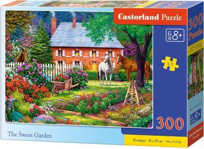 Пазл Castorland Чудесный сад , 300 деталей