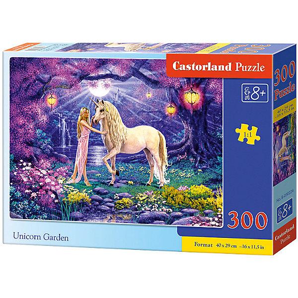 Пазл Castorland Единорог, 300 деталейПазлы классические<br>Характеристики:<br><br>• возраст: от 8 лет<br>• количество деталей: 300 шт.<br>• размер собранного пазла: 40х29 см.<br>• материал: картон<br>• упаковка: картонная коробка<br>• размер упаковки: 32x4,7x22 см.<br>• вес: 300 гр.<br>• страна обладатель бренда: Польша<br><br>Пазл «Единорог» от Castorland (Касторленд) отличается высоким качеством, высоким уровнем полиграфии, насыщенными цветами и идеальной стыковкой элементов. Из 300 элементов пазла ребенок соберет красивую картину с изображением единорога и очаровательной девушки, которые стоят на чудесной сказочной поляне.<br><br>Пазл Единорог, 300 деталей, Castorland (Касторленд) можно купить в нашем интернет-магазине.<br>Ширина мм: 320; Глубина мм: 220; Высота мм: 47; Вес г: 300; Возраст от месяцев: 96; Возраст до месяцев: 2147483647; Пол: Женский; Возраст: Детский; SKU: 6725107;