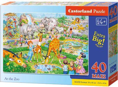 Макси-пазл Castorland Зоопарк , 40 деталей
