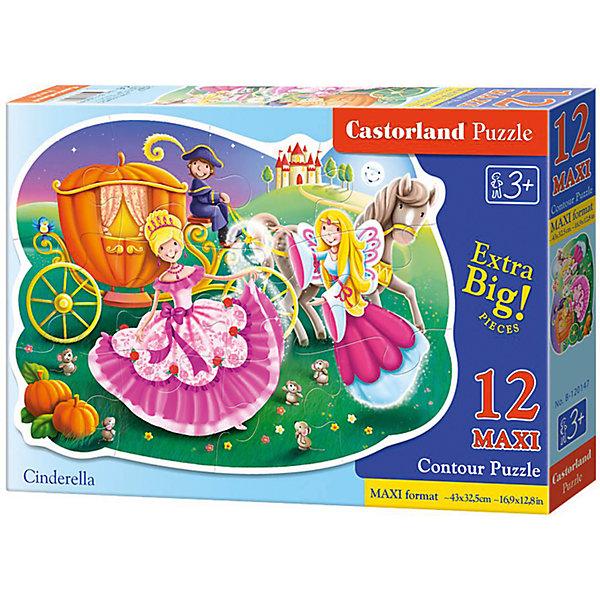 Макси-пазл Castorland Золушка, 12 деталейПазлы для малышей<br>Характеристики:<br><br>• возраст: от 3 лет<br>• количество деталей: 12 деталей MAXI<br>• размер собранного пазла: 45х32,5 см.<br>• материал: картон<br>• упаковка: картонная коробка<br>• размер упаковки: 32x4,7x22 см.<br>• вес: 400 гр.<br>• страна обладатель бренда: Польша<br><br>Из 12 больших элементов пазла ребенок соберет красочную картинку с изображением Золушки, собирающейся на бал. Благодаря фигурной форме картинки, процесс сбора элементов в одно изображение будет увлекательным и интересным.<br><br>Пазл Золушка, 12 деталей MAXI, Castorland (Касторленд) можно купить в нашем интернет-магазине.<br><br>Ширина мм: 320<br>Глубина мм: 220<br>Высота мм: 47<br>Вес г: 400<br>Возраст от месяцев: 36<br>Возраст до месяцев: 2147483647<br>Пол: Женский<br>Возраст: Детский<br>SKU: 6725119