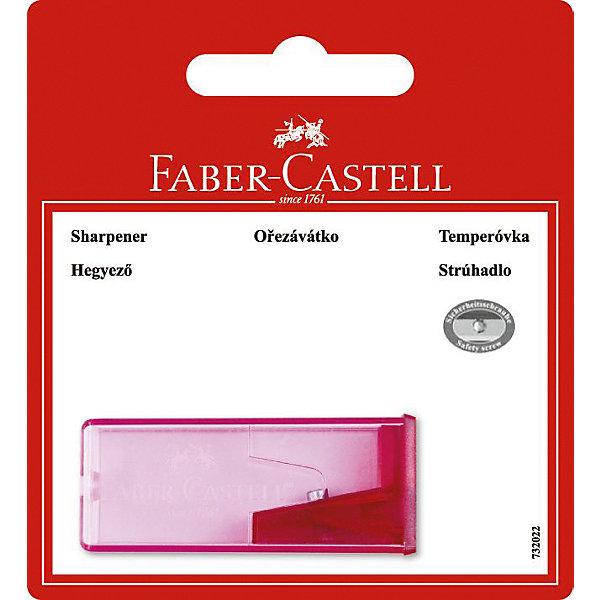 Faber-Castell Точилка для карандашей с контейнером в блистере, 1 отверстие.Ластики и точилки для первоклассников<br>Точилка для карандашей с контейнером, одно отверстие.<br>Ширина мм: 35; Глубина мм: 25; Высота мм: 20; Вес г: 17; Возраст от месяцев: 36; Возраст до месяцев: 2147483647; Пол: Унисекс; Возраст: Детский; SKU: 6725461;