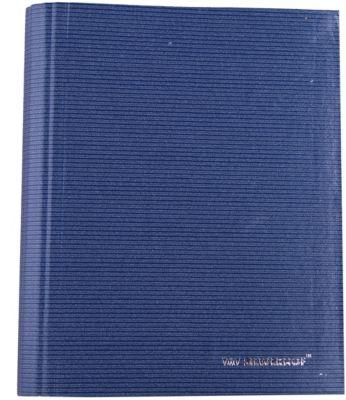 Silwerhof Тетрадь на кольцах А5 LINEA 160 листов с разделителями, синяя