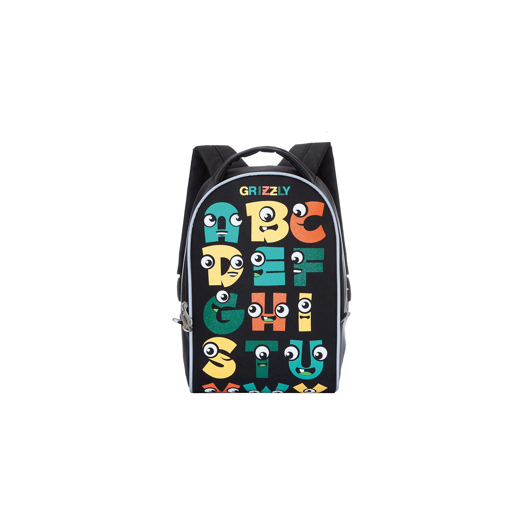 Grizzly рюкзак детский 1 отделениеРюкзаки<br>Рюкзак малый, одно отделение, укрепленная спинка, мягкая укрепленная ручка, укрепленные лямки, светоотражающие элементы с четырех сторон.<br>Вес, г: 291<br>Размер, см: 25х33х13<br>Состав: Нейлон<br>Наличие светоотражающих элементов:  да<br>Материал: Нейлон<br>Спина:  полужесткая<br>Наличие дополнительных карманов внутри:  да<br>Дно выбрать:  Мягкое<br>Количество отделений внутри:  1<br>Боковые карманы: нет<br>Замок:  Молния<br>Вмещает А4:  да<br><br>Ширина мм: 250<br>Глубина мм: 130<br>Высота мм: 330<br>Вес г: 291<br>Возраст от месяцев: 60<br>Возраст до месяцев: 84<br>Пол: Мужской<br>Возраст: Детский<br>SKU: 6727448