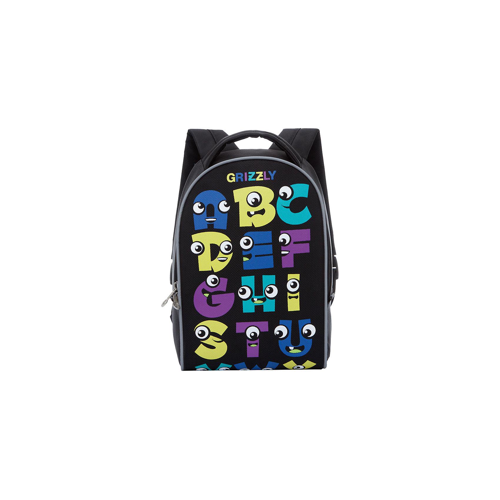Grizzly рюкзак детский 1 отделениеРюкзаки<br>Рюкзак , два отделения, внутренний карман, укрепленная спинка, дополнительная ручка-петля, укрепленные лямки, светоотражающие элементы с четырех сторон.<br>Вес, г: 398<br>Размер, см: 25х33х13<br>Состав: Нейлон<br>Наличие светоотражающих элементов:  да<br>Материал: Нейлон<br>Спина:  полужесткая<br>Наличие дополнительных карманов внутри:  да<br>Дно выбрать:  Мягкое<br>Количество отделений внутри:  2<br>Боковые карманы: нет<br>Замок:  Молния<br>Вмещает А4:  да<br><br>Ширина мм: 250<br>Глубина мм: 130<br>Высота мм: 330<br>Вес г: 291<br>Возраст от месяцев: 60<br>Возраст до месяцев: 84<br>Пол: Мужской<br>Возраст: Детский<br>SKU: 6727464