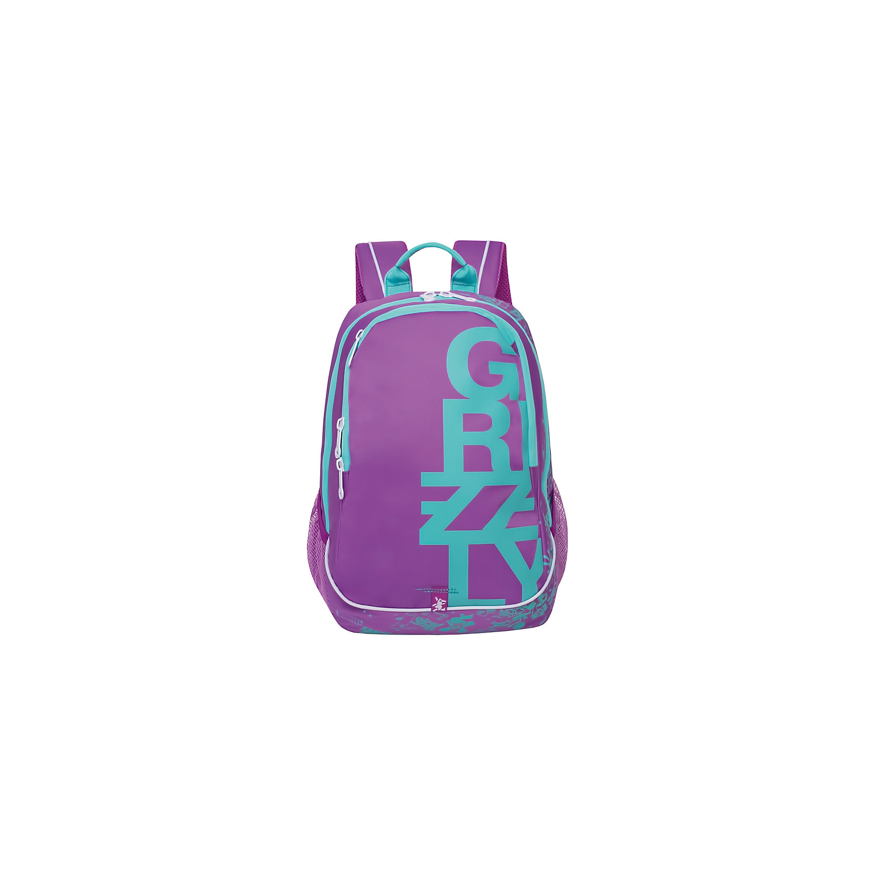 Grizzly рюкзак  2 отделенияРюкзаки<br>Рюкзак молодежный, два отделения, карман на молнии на передней стенке, объемный карман на молнии на передней стенке, боковые карманы с клапанами на липучках, внутренний карман-пенал для карандашей, жесткая анатомическая спинка, карман быстрого доступа в передней части рюкзака, мягкая укрепленная ручка, укрепленные лямки.<br>Вес, г: 985<br>Размер, см: 29х40х20<br>Состав: Полиэстр<br>Наличие светоотражающих элементов:  нет<br>Материал: Полиэстр<br>Спина:  полужесткая<br>Наличие дополнительных карманов внутри:  да<br>Дно выбрать:  Мягкое<br>Количество отделений внутри:  2<br>Боковые карманы: да<br>Замок:  Молния<br><br>Ширина мм: 290<br>Глубина мм: 200<br>Высота мм: 400<br>Вес г: 810<br>Возраст от месяцев: 120<br>Возраст до месяцев: 192<br>Пол: Мужской<br>Возраст: Детский<br>SKU: 6727507