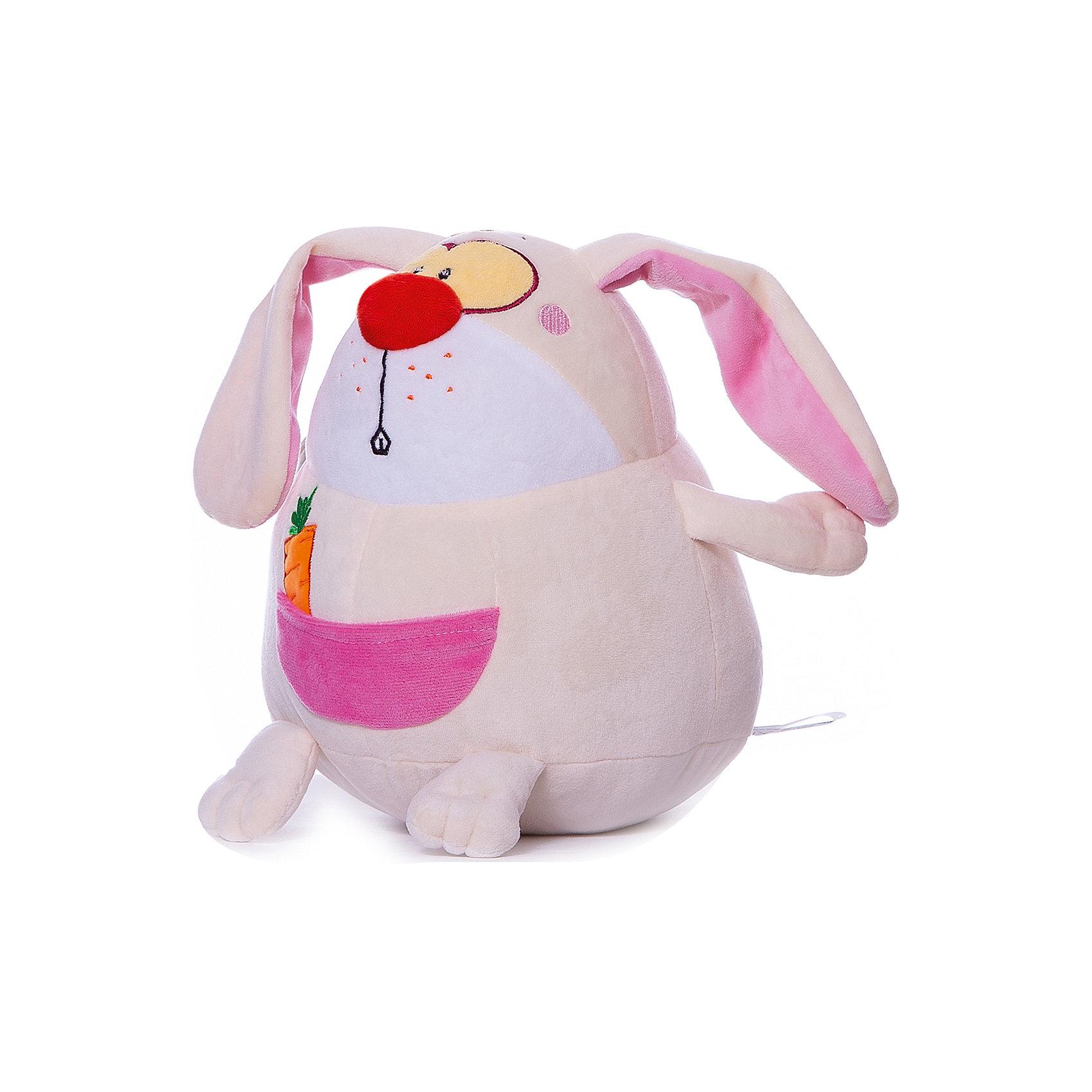 Игрушка Заяц-шарик, Small Toys, молочный