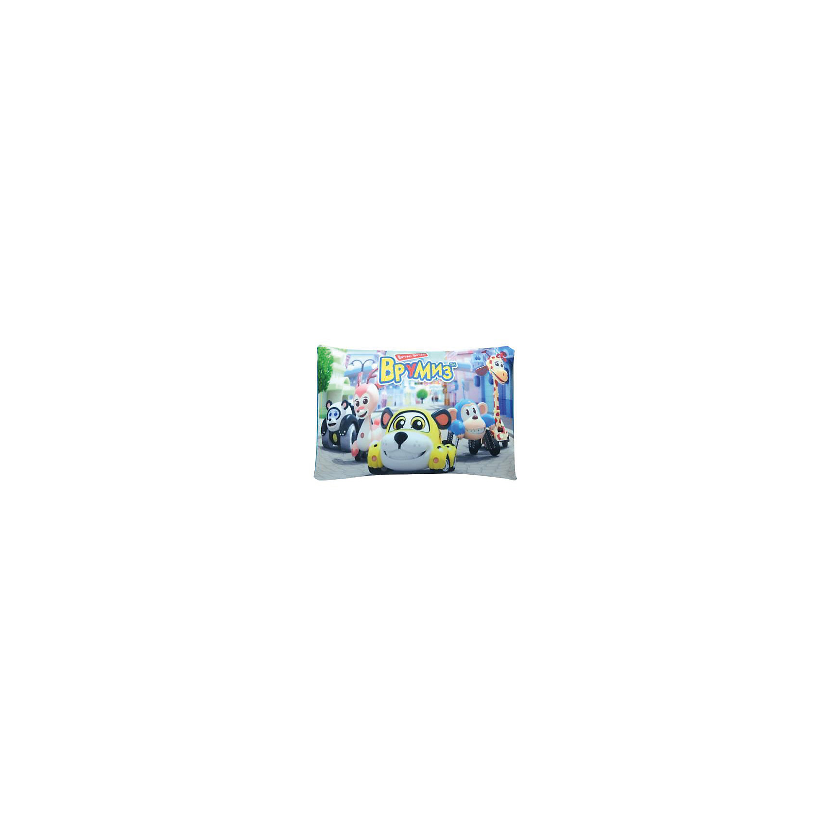 Подушка-антистрес Врумиз, Small Toys, голубой, 40х28см