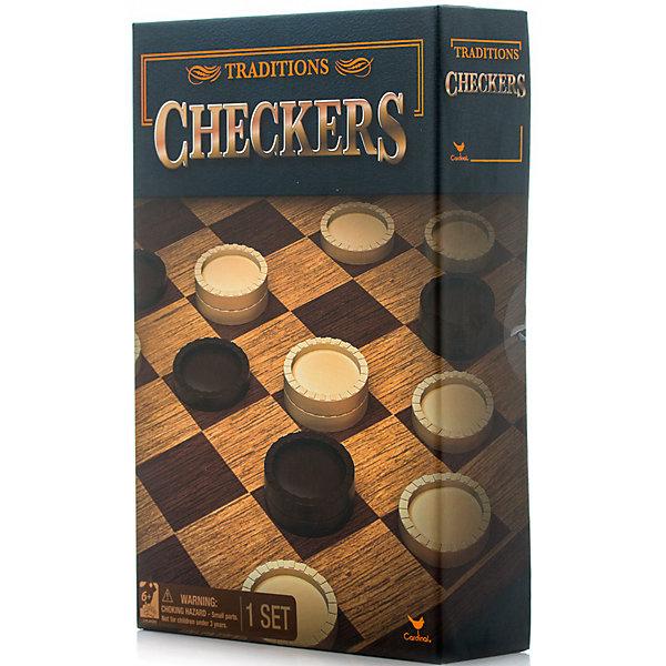 Шашки классические, Spin MasterСпортивные настольные игры<br>Характеристики товара:<br><br>• возраст от 6 лет;<br>• материал: картон, пластик;<br>• в комплекте: игровое поле, 12 белых фигур, 12 черных фигур;<br>• размер игрового поля 34х34 см;<br>• размер упаковки 21х21х6 см;<br>• страна производитель: Китай.<br><br>Шашки классические Spin Master позволят увлекательно и познавательно провести время в кругу семьи и друзей дома или в путешествии. Игра в шашки развивает интеллект, смекалку, тактику, логическое мышление, стратегическое мышление.<br><br>Шашки классические Spin Master можно приобрести в нашем интернет-магазине.<br>Ширина мм: 210; Глубина мм: 60; Высота мм: 210; Вес г: 413; Возраст от месяцев: 60; Возраст до месяцев: 2147483647; Пол: Унисекс; Возраст: Детский; SKU: 6728768;
