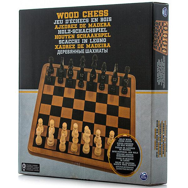 Шахматы классические, Spin MasterСпортивные настольные игры<br>Характеристики товара:<br><br>• возраст от 6 лет;<br>• материал: дерево;<br>• в комплекте: игровое поле, 16 белых фигур, 16 черных фигур;<br>• размер игрового поля 28х28х1,2 см;<br>• размер упаковки 31х30х5 см;<br>• страна производитель: Китай.<br><br>Шахматы классические Spin Master позволят увлекательно и познавательно провести время в кругу семьи и друзей дома или в путешествии. Игра в шахматы развивает интеллект, смекалку, тактику, логическое мышление, стратегическое мышление.<br><br>Шахматы классические Spin Master можно приобрести в нашем интернет-магазине.<br><br>Ширина мм: 310<br>Глубина мм: 50<br>Высота мм: 300<br>Вес г: 901<br>Возраст от месяцев: 72<br>Возраст до месяцев: 2147483647<br>Пол: Унисекс<br>Возраст: Детский<br>SKU: 6728773