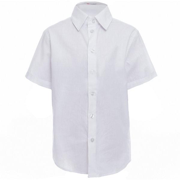 Рубашка для мальчика BUTTON BLUEБлузки и рубашки<br>Рубашка для мальчика BUTTON BLUE<br>Рубашка для мальчика - основа повседневного школьного образа! Школьные рубашки от Button Blue - это качество и комфорт, отличный внешний вид, удобство в уходе, высокая износостойкость. Какая детская рубашка для школы займет место в гардеробе вашего ребенка - зависит только от вас! Готовясь к школьному сезону, вам стоит купить рубашки в трех-четырех цветах, чтобы разнообразить будни ученика.<br>Состав:<br>60% хлопок                40% полиэстер<br>Ширина мм: 174; Глубина мм: 10; Высота мм: 169; Вес г: 157; Цвет: белый; Возраст от месяцев: 156; Возраст до месяцев: 168; Пол: Мужской; Возраст: Детский; Размер: 122,158,164,152,146,140,134,128; SKU: 6739135;