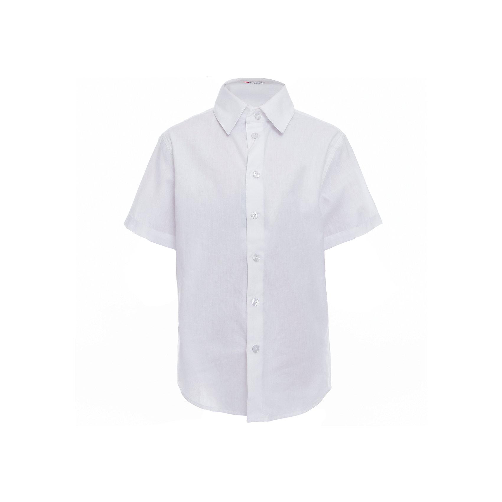 Рубашка для мальчика BUTTON BLUEБлузки и рубашки<br>Рубашка для мальчика BUTTON BLUE<br>Рубашка для мальчика - основа повседневного школьного образа! Школьные рубашки от Button Blue - это качество и комфорт, отличный внешний вид, удобство в уходе, высокая износостойкость. Какая детская рубашка для школы займет место в гардеробе вашего ребенка - зависит только от вас! Готовясь к школьному сезону, вам стоит купить рубашки в трех-четырех цветах, чтобы разнообразить будни ученика.<br>Состав:<br>60% хлопок                40% полиэстер<br><br>Ширина мм: 174<br>Глубина мм: 10<br>Высота мм: 169<br>Вес г: 157<br>Цвет: белый<br>Возраст от месяцев: 96<br>Возраст до месяцев: 108<br>Пол: Мужской<br>Возраст: Детский<br>Размер: 134,140,146,152,158,164,122,128<br>SKU: 6739135