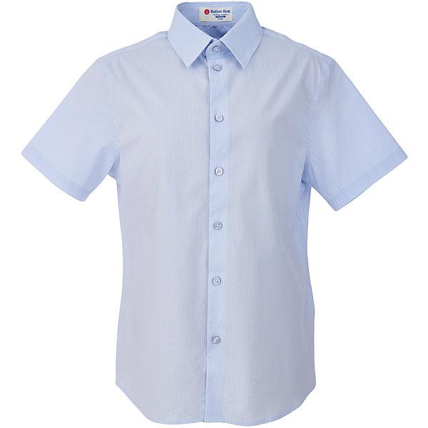 Рубашка для мальчика BUTTON BLUEБлузки и рубашки<br>Рубашка для мальчика BUTTON BLUE<br>Рубашка для мальчика - основа повседневного школьного образа! Школьные рубашки от Button Blue - это качество и комфорт, отличный внешний вид, удобство в уходе, высокая износостойкость. Какая детская рубашка для школы займет место в гардеробе вашего ребенка - зависит только от вас! Готовясь к школьному сезону, вам стоит купить рубашки в трех-четырех цветах, чтобы разнообразить будни ученика.<br>Состав:<br>61% хлопок                            36% нейлон  3%эластан<br><br>Ширина мм: 174<br>Глубина мм: 10<br>Высота мм: 169<br>Вес г: 157<br>Цвет: голубой<br>Возраст от месяцев: 72<br>Возраст до месяцев: 84<br>Пол: Мужской<br>Возраст: Детский<br>Размер: 122,164,158,152,146,140,134,128<br>SKU: 6739144