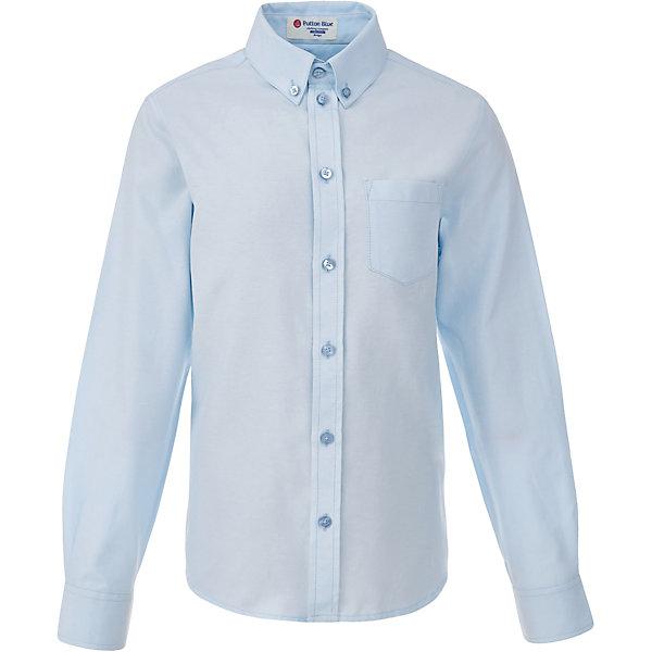 Рубашка для мальчика BUTTON BLUEБлузки и рубашки<br>Рубашка для мальчика BUTTON BLUE<br>Рубашка для мальчика - основа повседневного школьного образа! Школьные рубашки от Button Blue - это качество и комфорт, отличный внешний вид, удобство в уходе, высокая износостойкость. Какая детская рубашка для школы займет место в гардеробе вашего ребенка - зависит только от вас! Готовясь к школьному сезону, вам стоит купить рубашки в трех-четырех цветах, чтобы разнообразить будни ученика.<br>Состав:<br>60% хлопок                40% полиэстер<br>Ширина мм: 174; Глубина мм: 10; Высота мм: 169; Вес г: 157; Цвет: голубой; Возраст от месяцев: 96; Возраст до месяцев: 108; Пол: Мужской; Возраст: Детский; Размер: 134,140,146,152,158,122,128,164; SKU: 6739162;