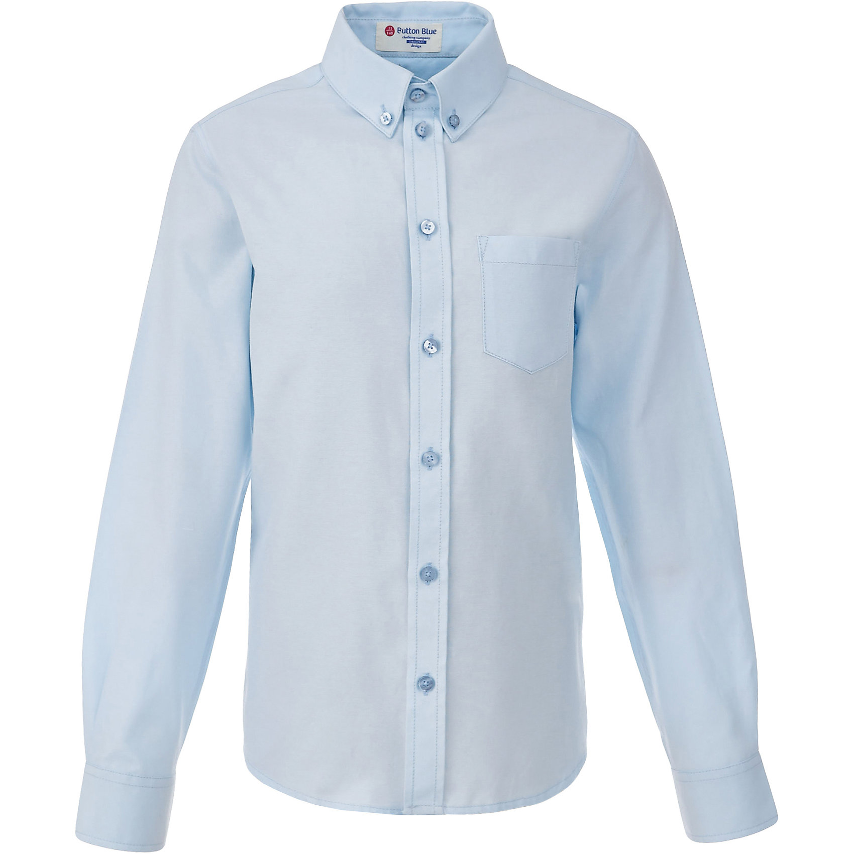 Рубашка для мальчика BUTTON BLUEБлузки и рубашки<br>Рубашка для мальчика BUTTON BLUE<br>Рубашка для мальчика - основа повседневного школьного образа! Школьные рубашки от Button Blue - это качество и комфорт, отличный внешний вид, удобство в уходе, высокая износостойкость. Какая детская рубашка для школы займет место в гардеробе вашего ребенка - зависит только от вас! Готовясь к школьному сезону, вам стоит купить рубашки в трех-четырех цветах, чтобы разнообразить будни ученика.<br>Состав:<br>60% хлопок                40% полиэстер<br><br>Ширина мм: 174<br>Глубина мм: 10<br>Высота мм: 169<br>Вес г: 157<br>Цвет: голубой<br>Возраст от месяцев: 156<br>Возраст до месяцев: 168<br>Пол: Мужской<br>Возраст: Детский<br>Размер: 164,122,128,134,140,146,152,158<br>SKU: 6739162