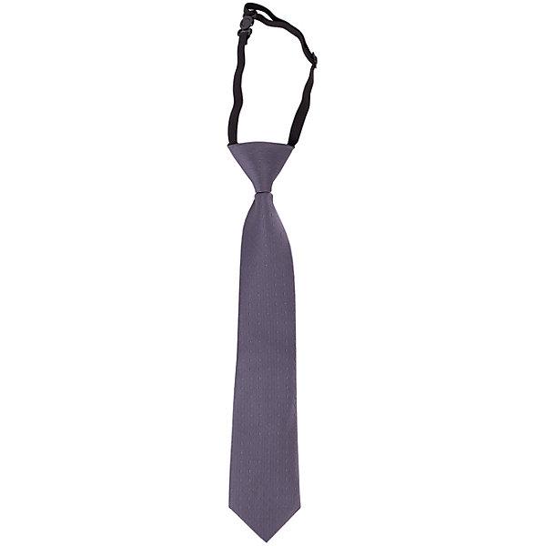 Галстук для мальчика BUTTON BLUEАксессуары<br>Галстук для мальчика BUTTON BLUE<br>Детские галстуки на резинке - удобное решение для создания элегантного образа. Несколько секунд и ученик из сорванца и непоседы превратится в настоящего джентльмена! Не забудьте купить детский галстук вместе с формой, ведь 1го сентября он понадобится как никогда! Впрочем, и в другие дни черный галстук для школьной формы - отличное дополнение.<br>Состав:<br>100%полиэстер<br>Ширина мм: 170; Глубина мм: 157; Высота мм: 67; Вес г: 117; Цвет: серый; Возраст от месяцев: 84; Возраст до месяцев: 180; Пол: Мужской; Возраст: Детский; Размер: one size; SKU: 6739260;
