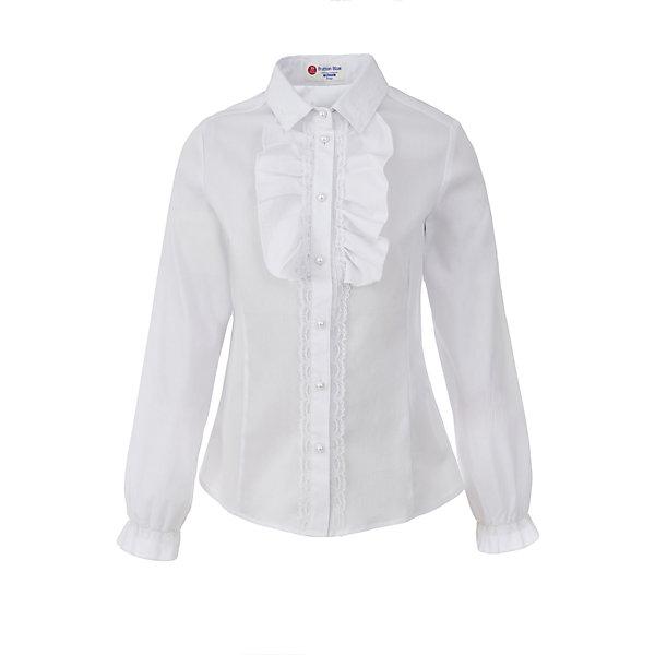 Блузка для девочки BUTTON BLUEБлузки и рубашки<br>Блузка для девочки BUTTON BLUE<br>Блузки для школы купить не сложно, но выбрать модель, сочетающую прекрасный состав, элегантный дизайн, привлекательную цену, не так уж и легко. Купить красивую школьную блузку для девочки недорого возможно, если это блузка от Button Blue! Не откладывайте покупку! Школьная блузка с жабо понадобится 1 сентября как никогда, придав образу торжественность и элегантность.<br>Состав:<br>62% хлопок,  35%нейлон,                3% эластан<br>Ширина мм: 186; Глубина мм: 87; Высота мм: 198; Вес г: 197; Цвет: белый; Возраст от месяцев: 132; Возраст до месяцев: 144; Пол: Женский; Возраст: Детский; Размер: 152,122,164,158,146,140,134,128; SKU: 6739321;