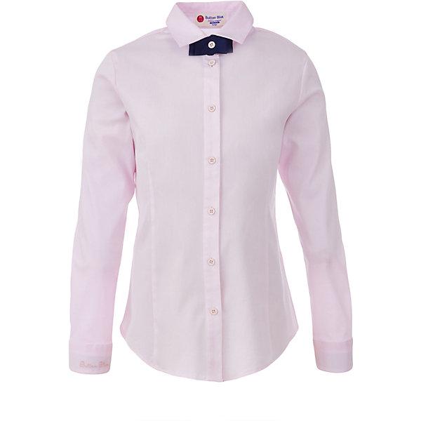 Блузка для девочки BUTTON BLUEБлузки и рубашки<br>Блузка для девочки BUTTON BLUE<br>Блузки для школы купить не сложно, но выбрать модель, сочетающую прекрасный состав, элегантный дизайн, привлекательную цену, не так уж и легко. Купить красивую школьную блузку для девочки недорого возможно, если это блузка от Button Blue!  Розовая школьная блузка с бантиком сделает каждый день ребенка комфортным!<br>Состав:<br>61% хлопок,  36%нейлон,                3% эластан<br>Ширина мм: 186; Глубина мм: 87; Высота мм: 198; Вес г: 197; Цвет: розовый; Возраст от месяцев: 72; Возраст до месяцев: 84; Пол: Женский; Возраст: Детский; Размер: 122,164,158,152,146,140,134,128; SKU: 6739339;