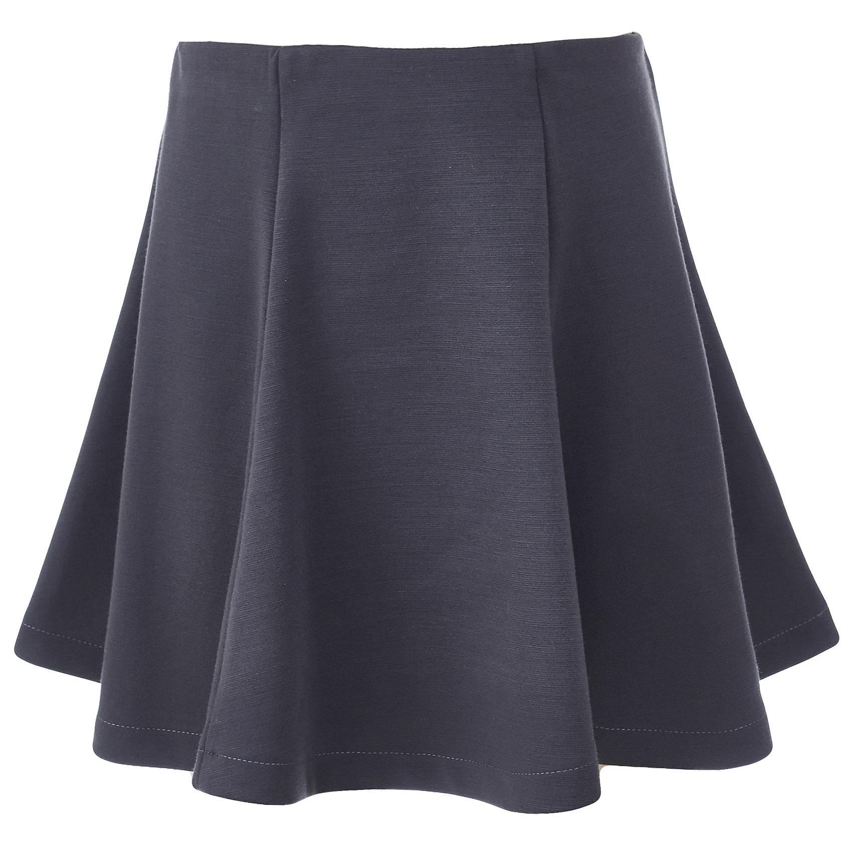 Юбка для девочки BUTTON BLUEЮбки<br>Юбка для девочки BUTTON BLUE<br>Какие юбки для девочек станут основой школьного гардероба? Те, кто уже носил юбку из плотного трикотажа знают: трикотажные школьные юбки - это удобство и свобода движений. Купить школьную юбку от Button Blue, значит, обеспечить ребенку повседневный комфорт.<br>Состав:<br>75% полиэстер, 21% вискоза,             4% эластан<br><br>Ширина мм: 207<br>Глубина мм: 10<br>Высота мм: 189<br>Вес г: 183<br>Цвет: серый<br>Возраст от месяцев: 156<br>Возраст до месяцев: 168<br>Пол: Женский<br>Возраст: Детский<br>Размер: 164,122,128,134,140,146,152,158<br>SKU: 6739420