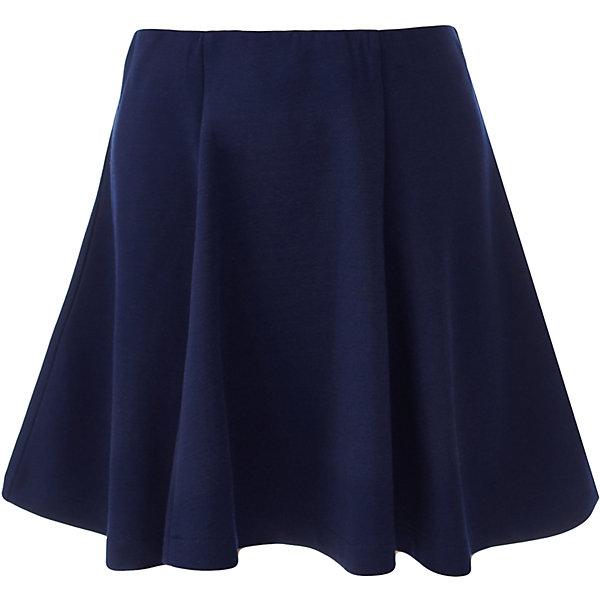 Юбка для девочки BUTTON BLUEЮбки<br>Юбка для девочки BUTTON BLUE<br>Какие юбки для девочек станут основой школьного гардероба? Те, кто уже носил юбку из плотного трикотажа знают: трикотажные школьные юбки - это удобство и свобода движений. Купить школьную юбку от Button Blue, значит, обеспечить ребенку повседневный комфорт.<br>Состав:<br>75% полиэстер, 21% вискоза,             4% эластан<br><br>Ширина мм: 207<br>Глубина мм: 10<br>Высота мм: 189<br>Вес г: 183<br>Цвет: синий<br>Возраст от месяцев: 72<br>Возраст до месяцев: 84<br>Пол: Женский<br>Возраст: Детский<br>Размер: 122,164,158,152,146,140,134,128<br>SKU: 6739438